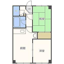 ラフォーレ24[4階]の間取り