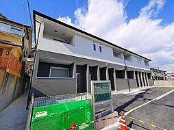 奈良県奈良市百楽園5丁目の賃貸アパートの外観