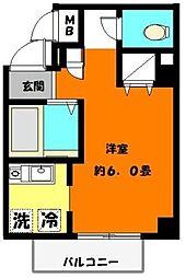 AIKU・BLD[203号室]の間取り