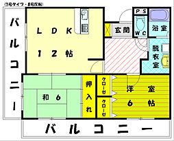 パシオンアネックス[3階]の間取り