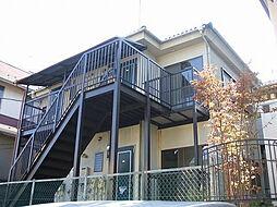 東京都町田市鶴川2丁目の賃貸アパートの外観