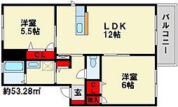 A-Tパークハイム[1階]の間取り