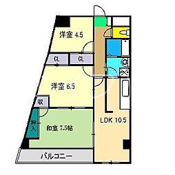 第II瀬戸ハイツ[1階]の間取り