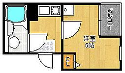 デイズ桜川II[5階]の間取り