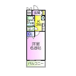 メゾングラディア[2階]の間取り