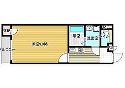 レオネクスト藤井寺[1階]の間取り