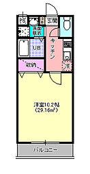 RIFUSO[102号室]の間取り