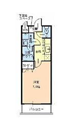 フジパレス ピーノ[2階]の間取り