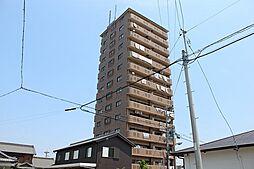 愛知県津島市莪原町字東屋敷の賃貸マンションの外観