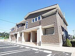 千葉県流山市平和台4丁目の賃貸アパートの外観