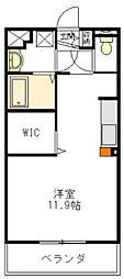 ソレイユコートS[1階]の間取り