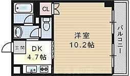 エスポワール福島[6階]の間取り
