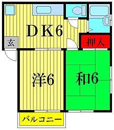 マイハウスII[1階]の間取り