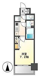 プレサンス名古屋グロウ[15階]の間取り