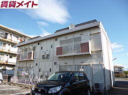 三重県四日市市日永西2の賃貸アパートの外観