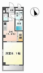 メゾン・ド・ケヤキ[207号室]の間取り