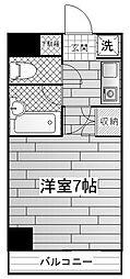 ラフィネ多摩平[2階]の間取り