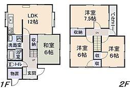 [一戸建] 青森県八戸市下長1丁目 の賃貸【/】の間取り