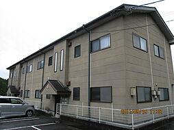 宮崎県小林市大字堤の賃貸アパートの外観