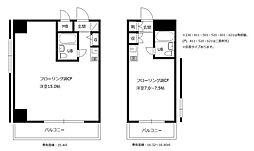 メゾン・ド・ノア大和田[3階]の間取り