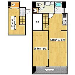 STYLE 1[7階]の間取り
