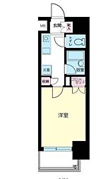 東京都品川区西五反田8丁目の賃貸マンションの間取り
