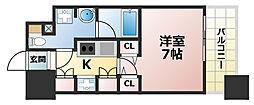 アーバネックス神戸六甲[4階]の間取り