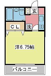 兵庫県姫路市城北新町1丁目の賃貸マンションの間取り
