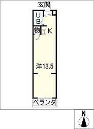 マンション日吉多加木[1階]の間取り