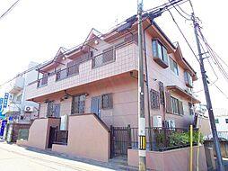 東京都東村山市諏訪町1丁目の賃貸アパートの外観