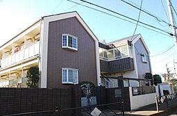 東京都調布市深大寺東町4丁目の賃貸アパートの外観