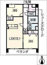 仮)菰口71新築マンション[2階]の間取り