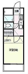 フラット戸塚深谷[2階]の間取り
