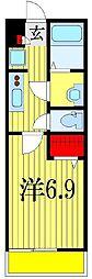 リブリ・ラシーナII[2階]の間取り