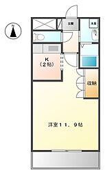 ガーデンヴィラTY III[1階]の間取り