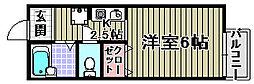 ジュネス和泉[102号室]の間取り