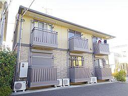 東京都東大和市中央2丁目の賃貸アパートの外観