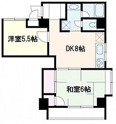 K・B・M高須[3階]の間取り