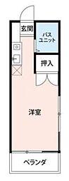 二俣川ビューハイツ[2階]の間取り