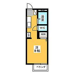 シルクロード21[1階]の間取り