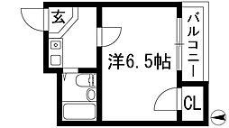 丸美マンション[3階]の間取り