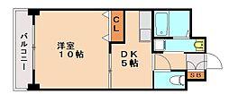 アネックスKT[3階]の間取り