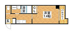 S-RESIDENCE新大阪WEST[14階]の間取り