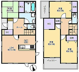 一戸建て(大泉学園駅からバス利用、102.67m²、4,650万円)