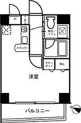 清水ビルフラワーコート[1階]の間取り