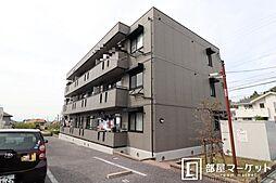 愛知県岡崎市真伝町字吉祥の賃貸アパートの外観