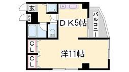 ハーバーステージ神戸[4階]の間取り