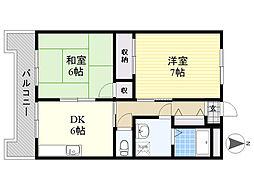 【敷金礼金0円!】日生第6マンション