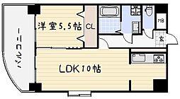 ボヌ−ル小倉[902号室]の間取り