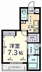 メゾン オーク[2階]の間取り